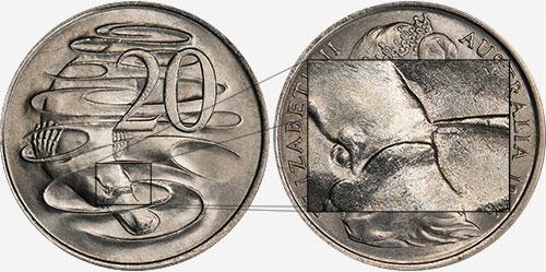 20 cents 1966 - Gap - London mint