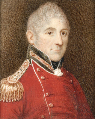 Governor Lachlan Macquarie, 1819. State Library of New South Wales, MIN236