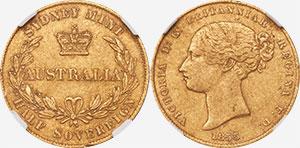 Half Sovereign 1855