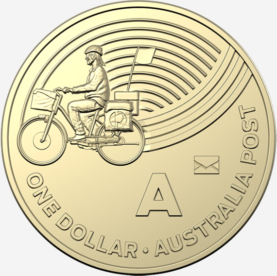 1 dollar 2019 - A - Privy mark - Australia Post - The Great Aussie Coin Hunt