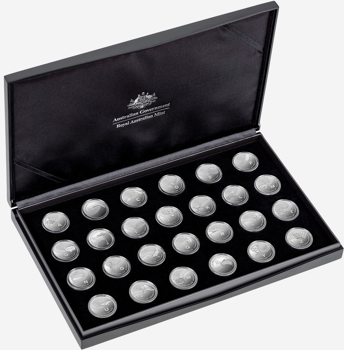 1 dollar 2019 - Silver proof set