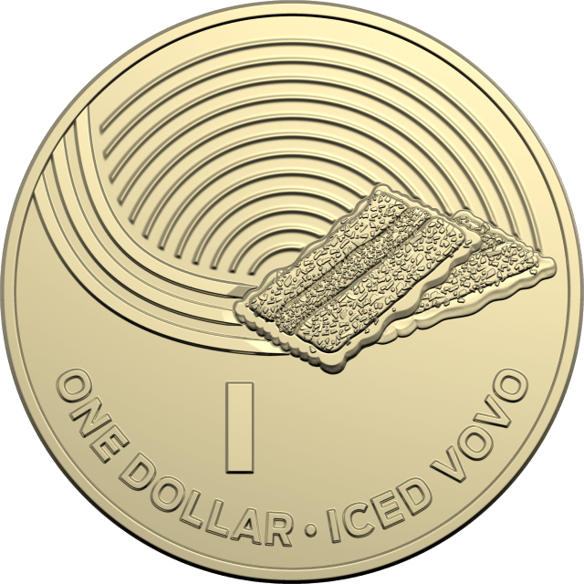 1 dollar 2019 - I - Iced Vovo - The Great Aussie Coin Hunt