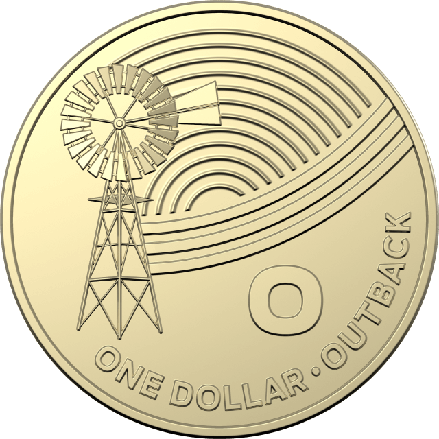 1 dollar 2019 - O - Outback - The Great Aussie Coin Hunt