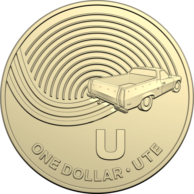 1 dollar 2019 - U - Ute - The Great Aussie Coin Hunt
