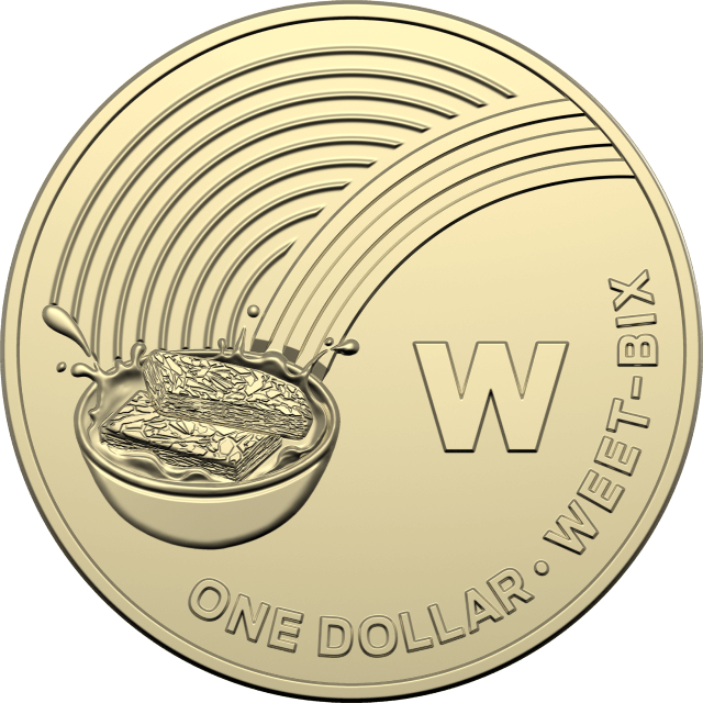 1 dollar 2019 - W - Weet-Bix - The Great Aussie Coin Hunt