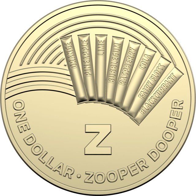 1 dollar 2019 - Z - Zooper Dooper - The Great Aussie Coin Hunt