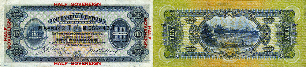 Ten shillings 1913 to 1923