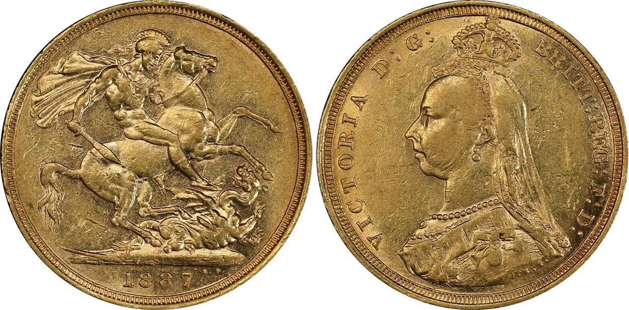 Sovereign 1887
