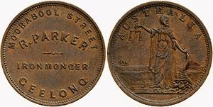 R. Parker - Ironmonger - Geelong - Identification Guide