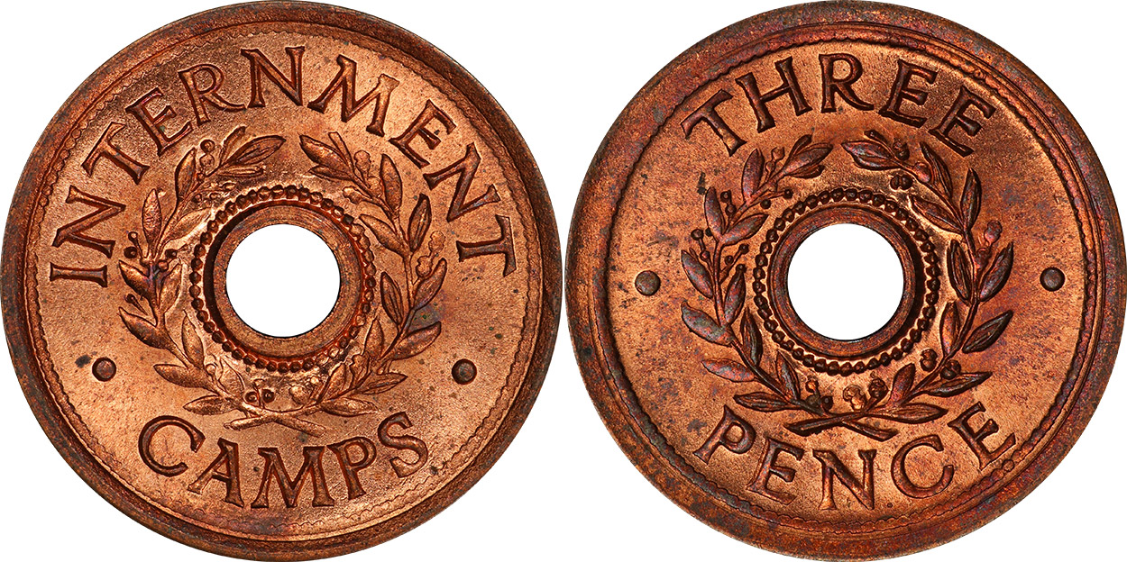 Internment Camps - Threepence